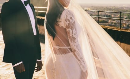 Kim Kardashian Releases New Kimye Wedding Photo, Is All About #LOVE