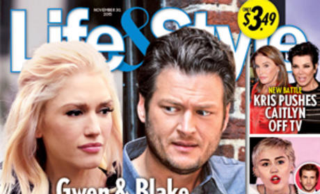 Life & Style: Gwen and Blake Are Over!