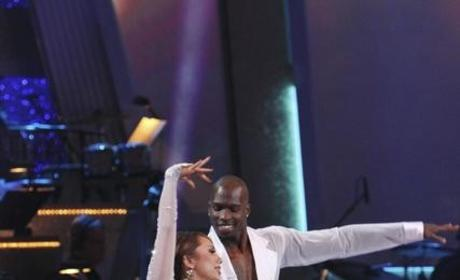 Chad Ochocinco and Cheryl Burke Pic