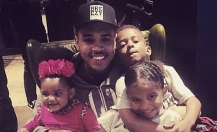 "Chris Brown Teaches Nephew About ""Hoes,"" Shows World What Kind of Dad He'll Be"