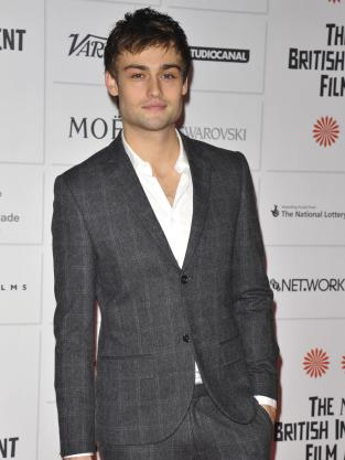 Douglas Booth Photo