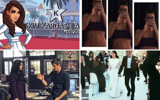 Kim kardashian video game tease