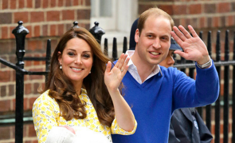 William, Kate and Daughter