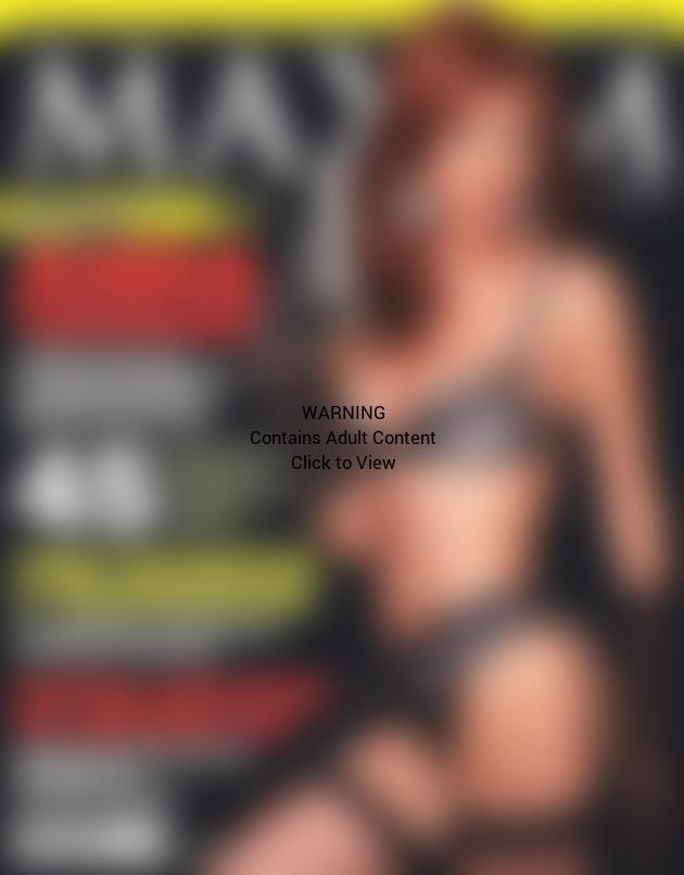 Anna Chapman in Maxim