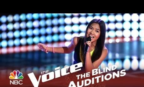 Katriz Trinidad - At Last (The Voice Audition)