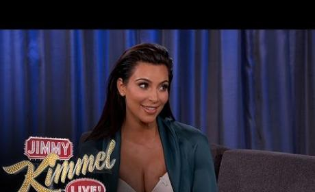 Kim Kardashian Changes Diapers, Calls Out Drunk Khloe on Jimmy Kimmel Live