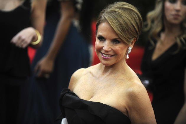 Katie Couric at the MET Gala