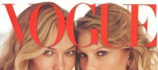 Taylor Swift, Karlie Kloss Vogue Cover