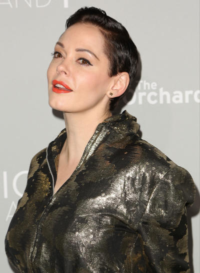Rose McGowan Red Carpet Pic