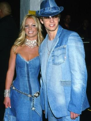 Britney Spears and Justin Timberlake Together