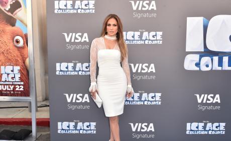 Jennifer Lopez Ice Age Collision Course Pic