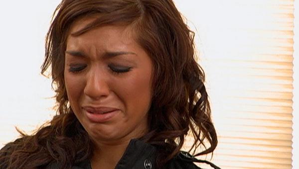 Farrah Abraham Cries