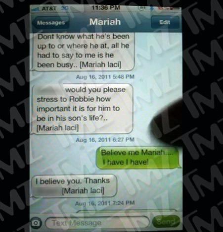 Mariah Yeater Text