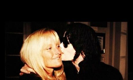 Debbie Rowe and Michael Jackson