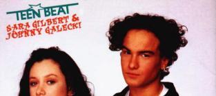 Sara Gilbert and Johnny Galecki
