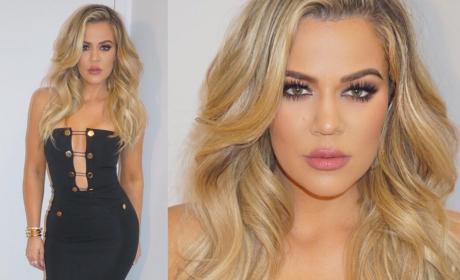 Khloe Kardashian Preps for Kocktails With Khloe
