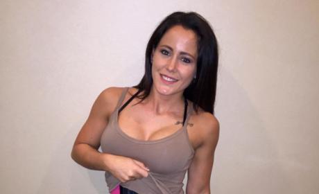 Jenelle Evans waist training