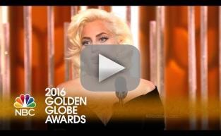 Lady Gaga Wins First-Ever Golden Globe!