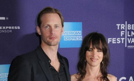 Juliette Lewis and Alexander Skarsgard
