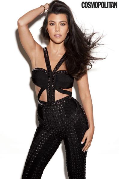 Kourtney Kardashian Cosmo Pic