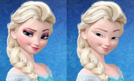 Disney Princess Get a Make-Under; See Them With No Makeup!