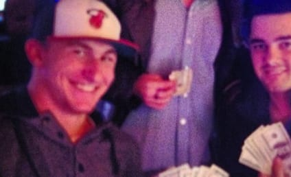 Johnny Manziel Instagram Photo: Casino Ballin'!