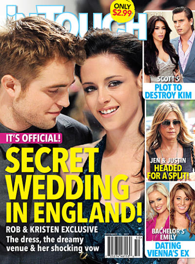 The Secret Robsten Wedding