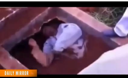Man Buried Alive in Brazil, Claws His Way Out, Scares the ISH Out of Mourner