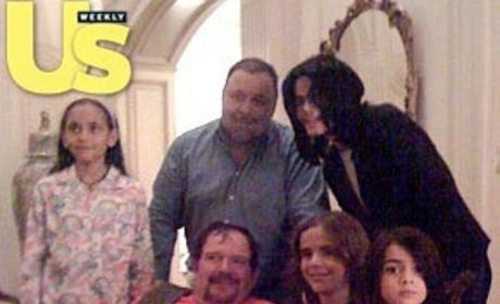 Photos Show Dr. Arnold Klein, Michael Jackson, Kids Together on Christmas