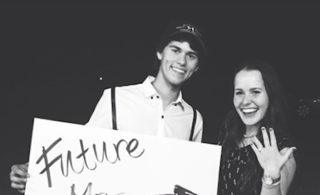 John Luke Robertson: Engaged to Mary Kate McEacharn!