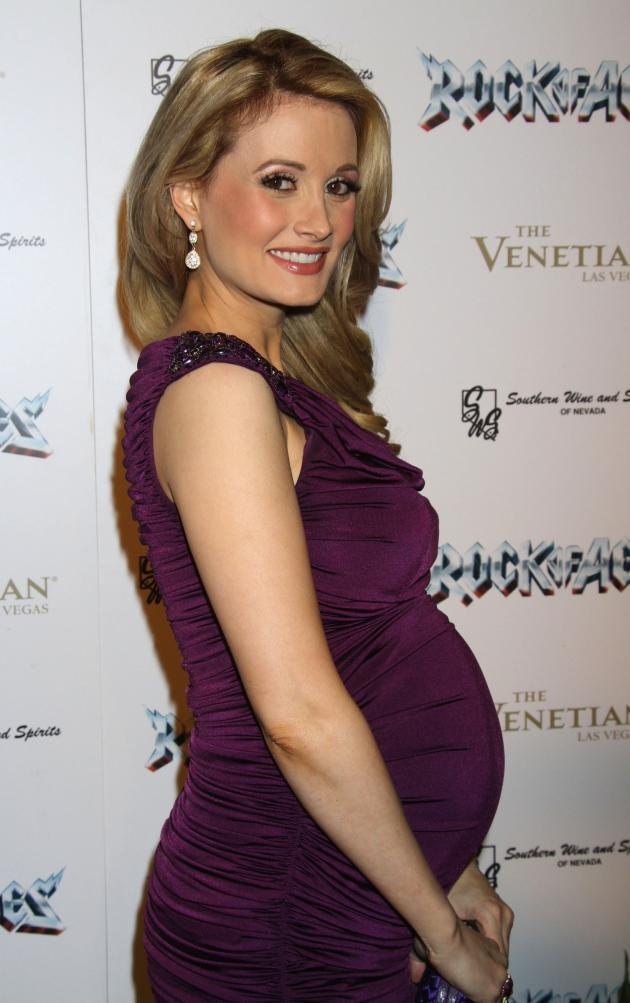 Holly Madison Baby Bump Pic
