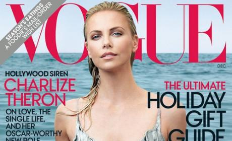 Charlize Theron Covers Vogue, Talks Single Life, Looks Very Attractive