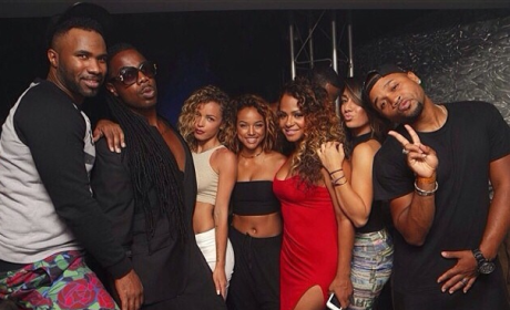Karrueche Partying