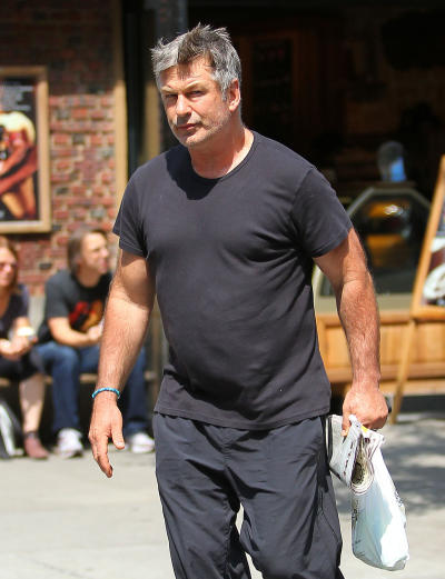 Alec Baldwin on the Street