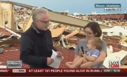 Wolf Blitzer to Atheist: Thank God, Right?