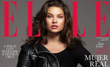 Tara Lynn, Plus-Size Model, Featured in Spanish Elle