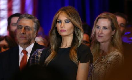 Melania Trump Denies Boob Job Rumors: I Don't Even Do Botox!