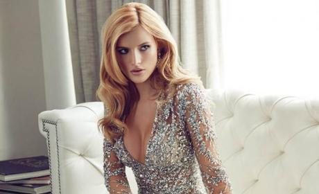 Bella Thorne Flaunts Major Cleavage in Glamour!