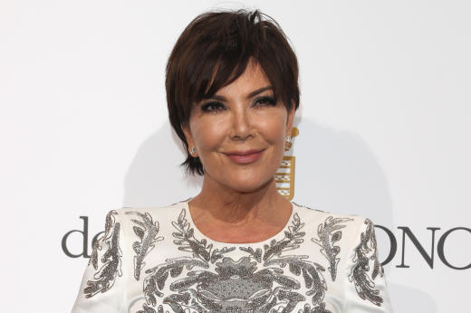 Kris Jenner in France