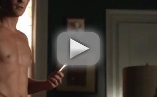 Ian Somerhalder Strips Down for The Vampire Diaries Teaser