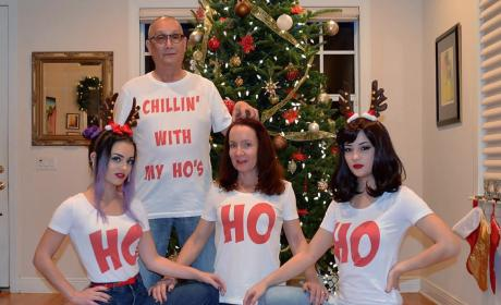 "Florida Man and His ""Ho's"" Stir Up Christmas Card Controversy"