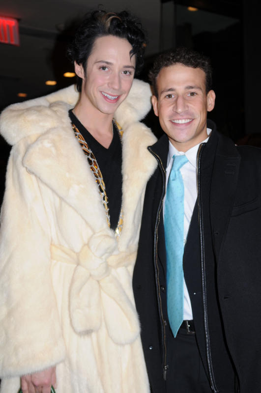 Johnny Weir and Victor Voronov