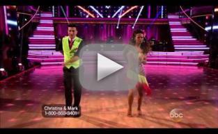 Christina Milian & Mark Ballas - Dancing With the Stars Week 5