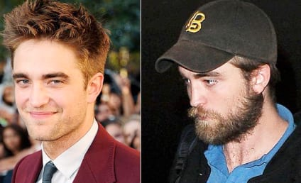 Robert Pattinson Breaks Out a Beard