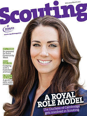 Kate Middleton Scouting Cover