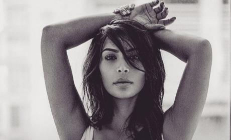 Kim Kardashian Stirs Controversy with Latest Cleavage Photo