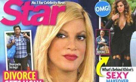 Tori Spelling Divorce Cover