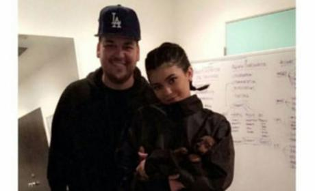 Kylie Jenner & Rob Kardashian: The Feud is Over!