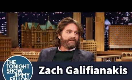 Zach Galifianakis Talks Son's Testicles