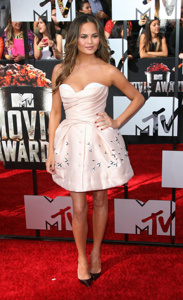 Chrissy Teigen at MTV Movie Awards